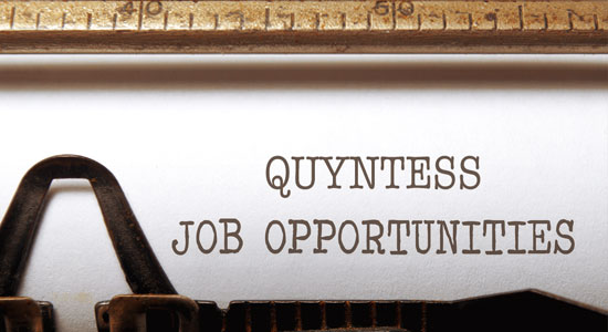 Quyntess Job Opportunities